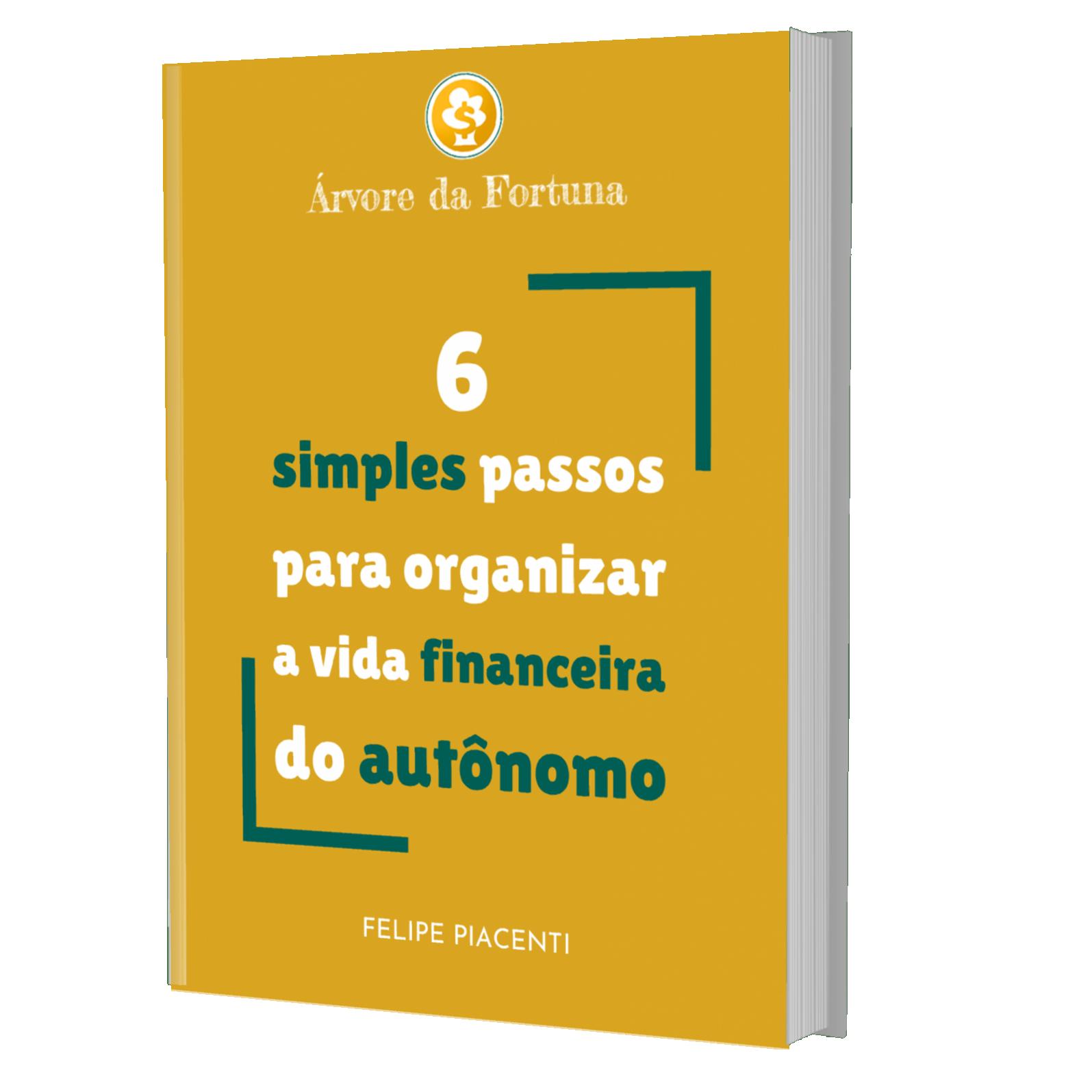E-BOOK GRÁTIS!        Organização Financeira Para Autônomos